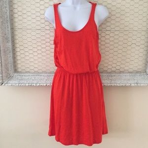 H&M Red Basic Tank Top Dress.